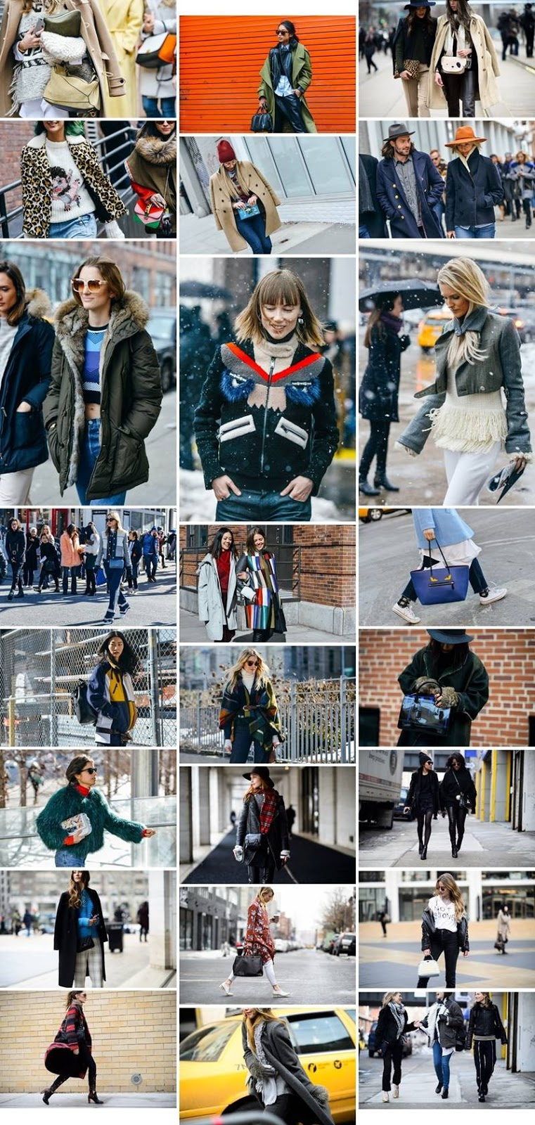 INSPIRATION \ From the NYFW