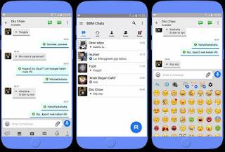 bbm mod mirip ios iPhone