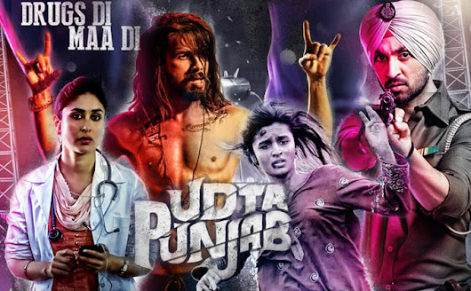 Beep Beep - it's me: Udta Punjab - A Very Haram Movie Review