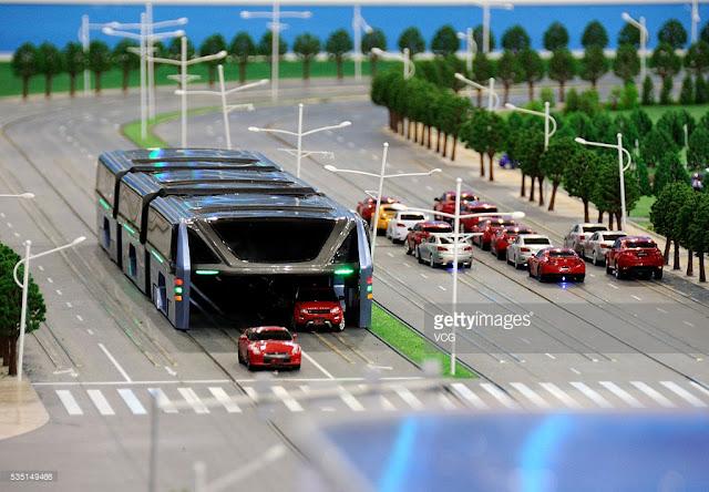 Konsep TEB ( Transit Elevated Bus)
