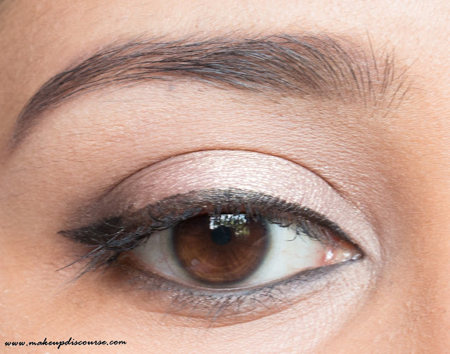 Everyday Simple Eyemakeup using Sleek Oh So Special