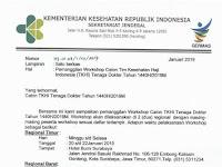 Pengumuman Workshop Calon Petugas Kesehatan Haji Indonesia 1440 H 2019 M