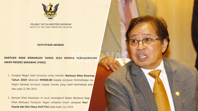 Bonus Raya 2019 Penjawat Awam Selangor Persoalan C