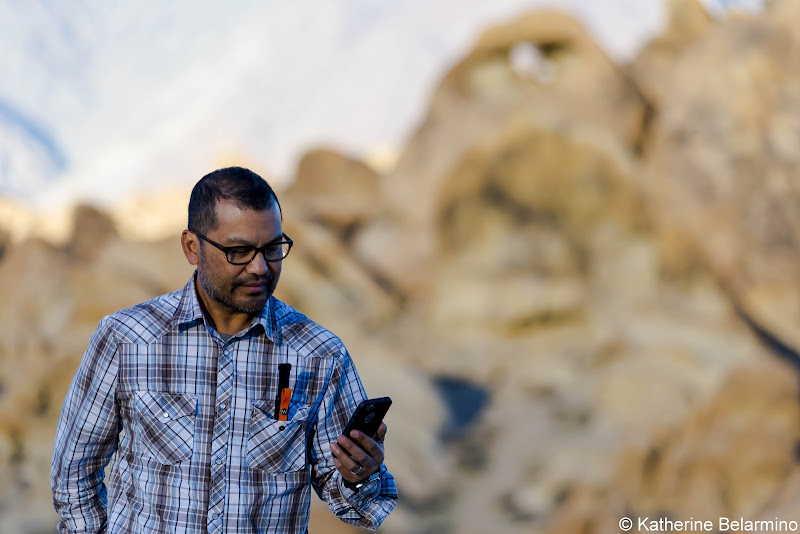 Using goTenna in the Alabama Hills goTenna Review