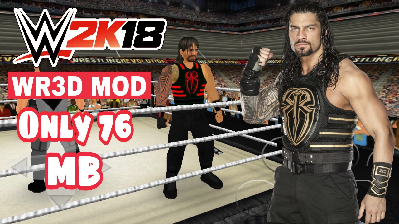 Wwe 2k18 for android wr3d mod  [60mb]How To Download WWE