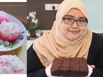 Eny Abdullah, Chef Blogger Malaysia Share Tips Untuk Buat Apam 3 Bahan Anda MENJADI. Mesti Cuba!