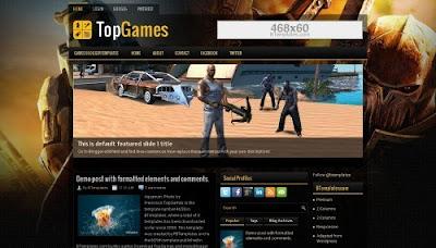 Template Blogger TopGames Premium