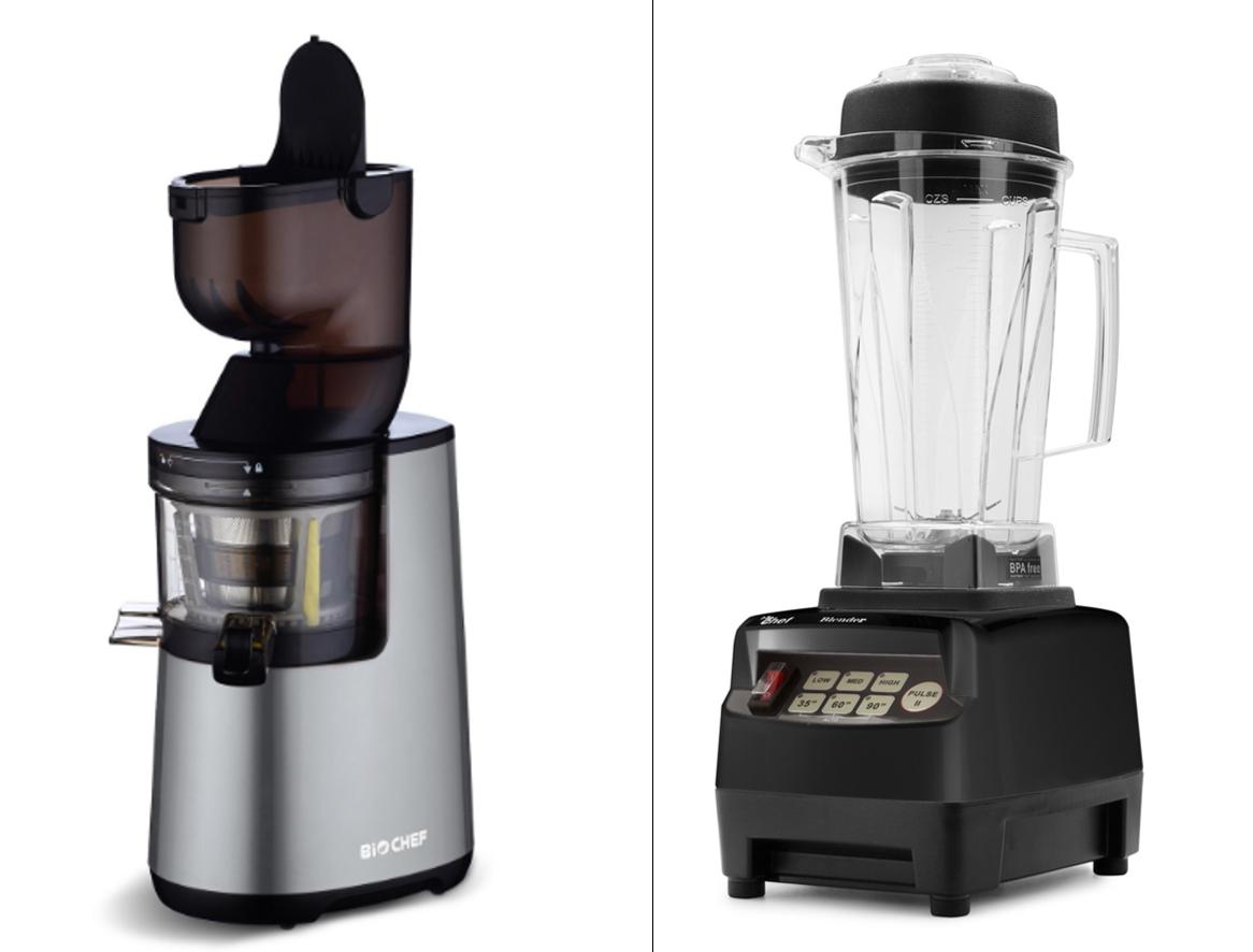 extracteur de jus et mixeur biochef vitality4life deux nouveaux appareils dans ma cuisine. Black Bedroom Furniture Sets. Home Design Ideas