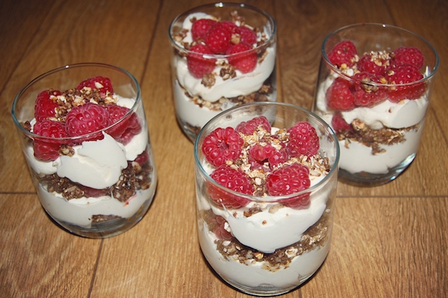 Cranachan with Scottish Raspberries