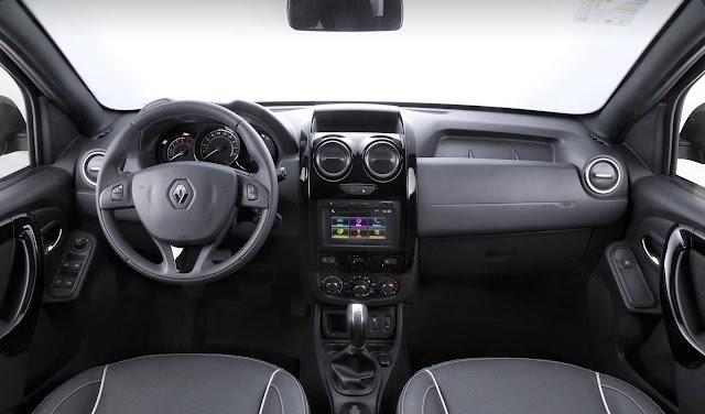 Renault Duster Oroch 2.0 Dynamique Automática - interior