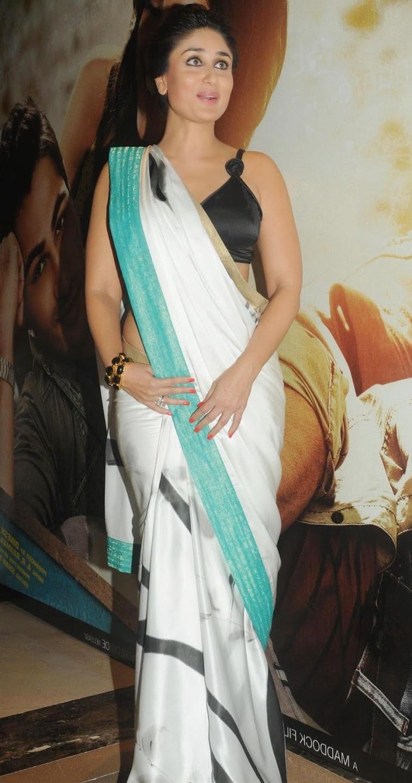 Kareena Kapoor Photos In White Saree