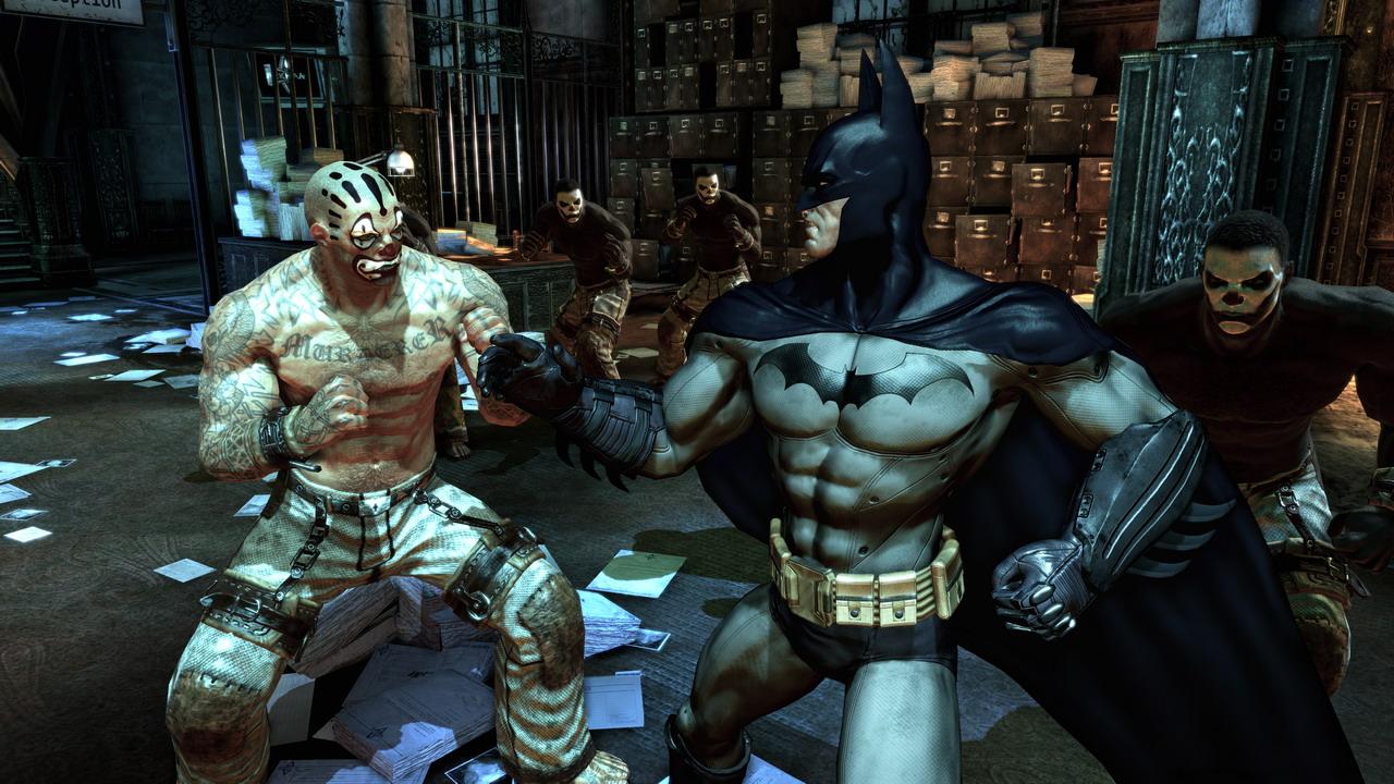 Kết quả hình ảnh cho Batman: Arkham Asylum (2009)