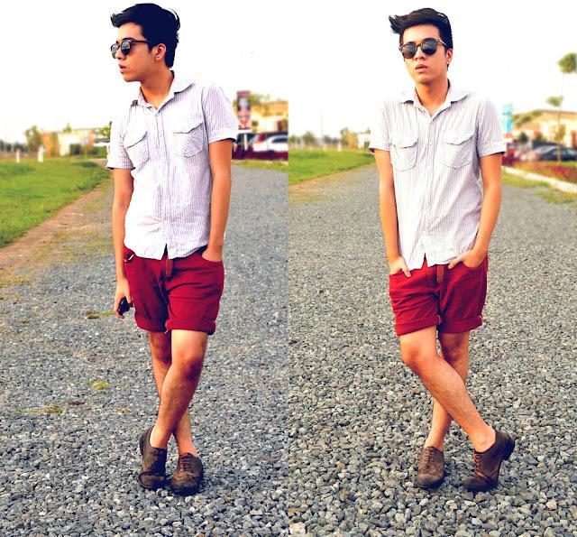 camisa manga curta masculina estampada como usar