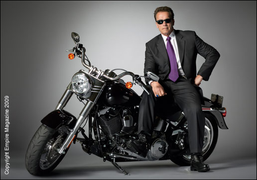 Harley Davidson Fatboy Terminator Motorcycle Photos Top