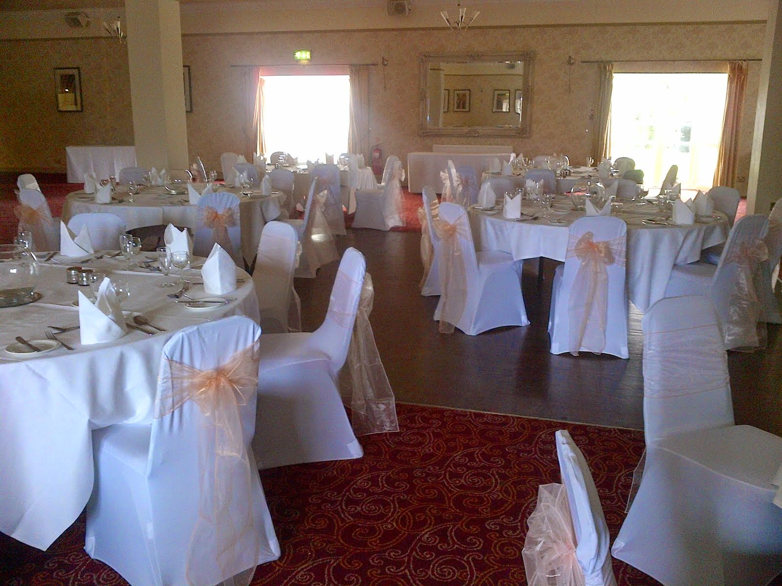 chair cover hire northumberland slipcovers for dining chairs without arms uk exquisite events and white black