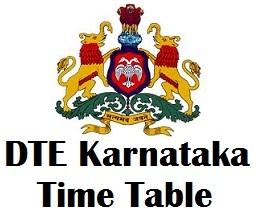 Karnataka Diploma Exam Schedule 2017 | DTE Exam Date