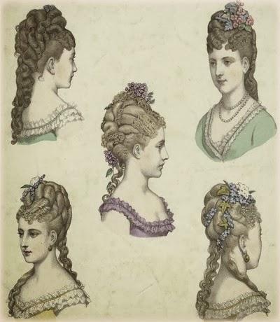 Acconciature capelli 1800