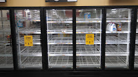 Hurricane Irma almost no dairy, no bread, no lunch meats