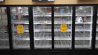 Hurricane Irma almost no dairy, no bread, no lunch meats