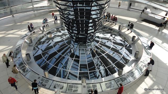 Cúpula de vidro do Reichstag - Berlim