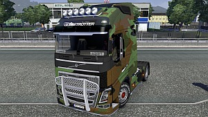 Camo skin for Volvo 2012