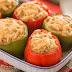 Aprenda a fazer 'Pimentão recheado com Purê de Batata'