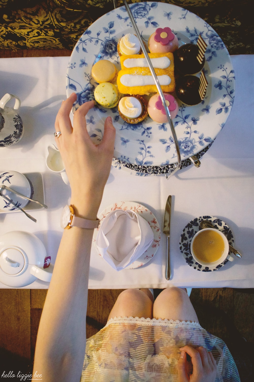 afternoon tea, fawsley hall hotel and spa, scones, cakes