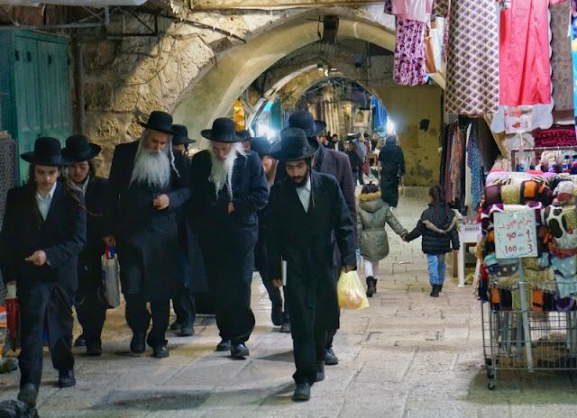 judeus em Jerusalém