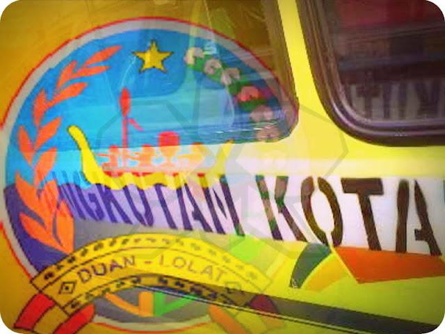 Sopir Angkutan Kota Saumlaki Keluhkan Jalur Transportasi