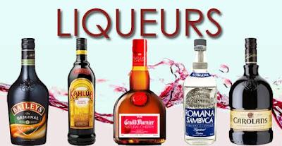 hình ảnh các loại rượu mùi
