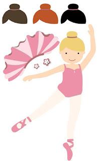 free printable ballerina