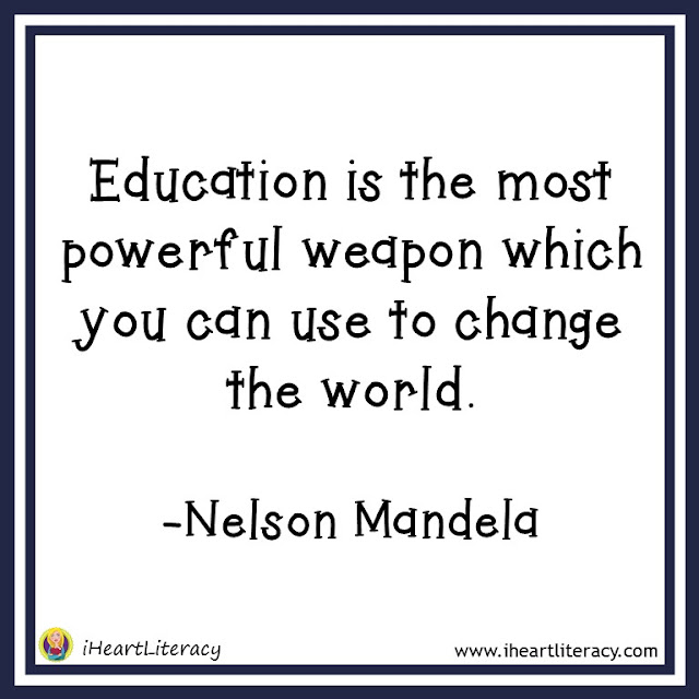 Education is the most powerful weapon which you can use to change the world. -Nelson Mandela #inspiration
