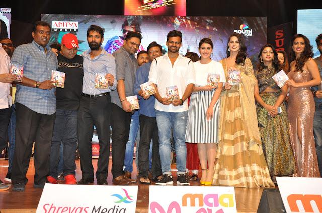 Sai dharam Tej Thikka Audio Launch Photos