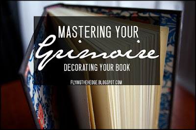 Matersing Your Grimoire: Decorating Your Book