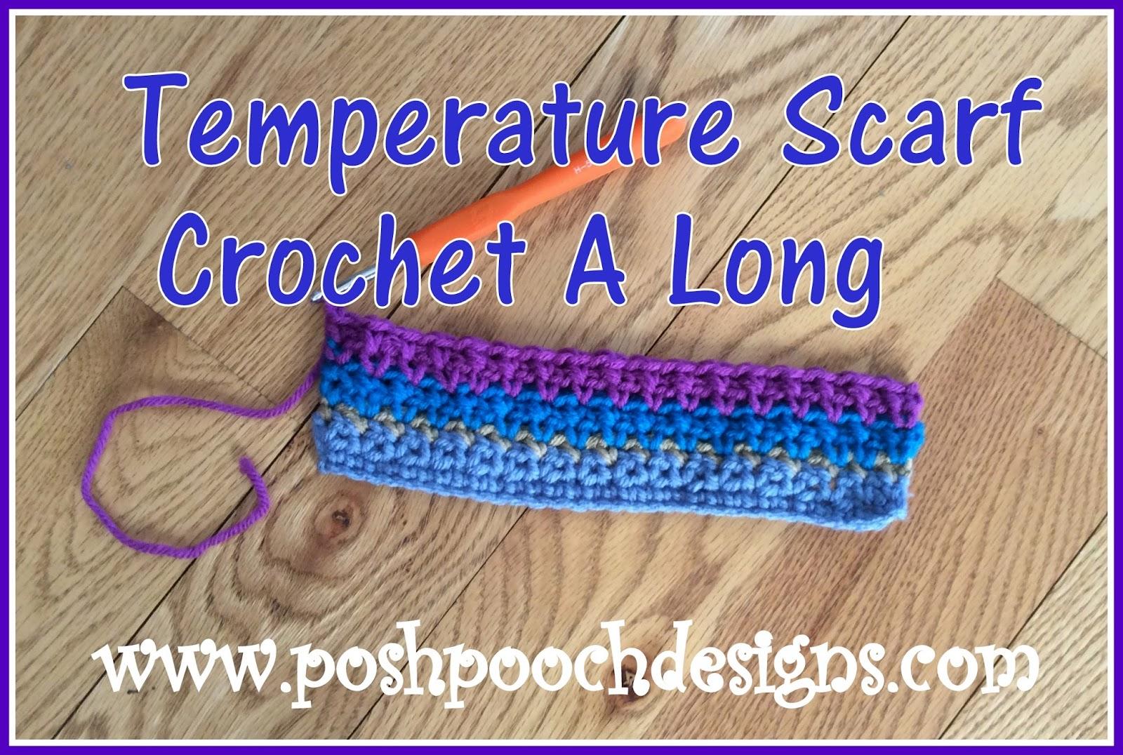 Posh Pooch Designs Dog Clothes My Temperature Scarf 2017 Crochet