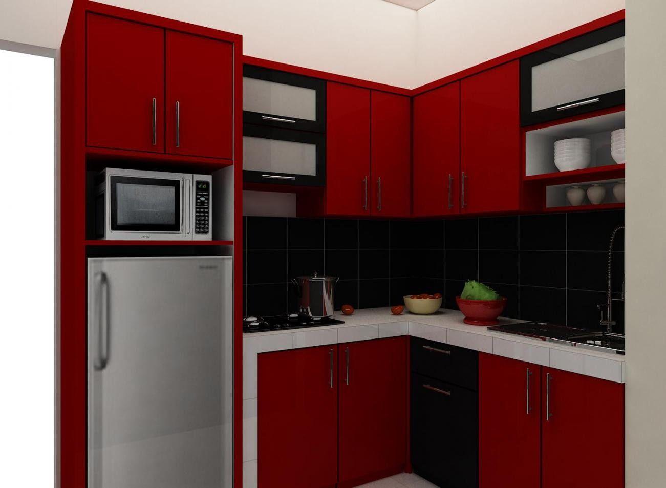 Menata Interior Desain Kabinet Dapur Rumah Mungil Minimalis