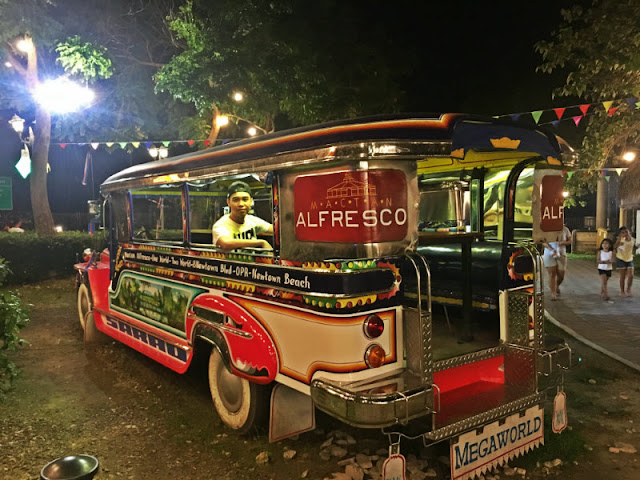 Jeepney Dining at Mactan Alfresco Mactan Newtown
