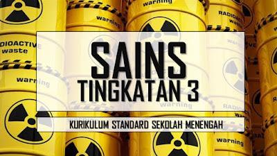 Tajuk-tajuk Bagi Sains Tingkatan 3 KSSM
