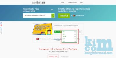 Cara Download Video Youtube Tanpa Menggunakan Software - Kanginformasi.com
