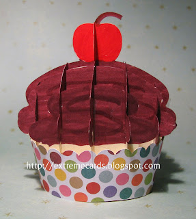 finished slice form cupcake
