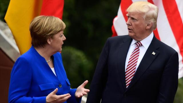 Comisario de UE: Merkel y Trump se enfrentarán duramente
