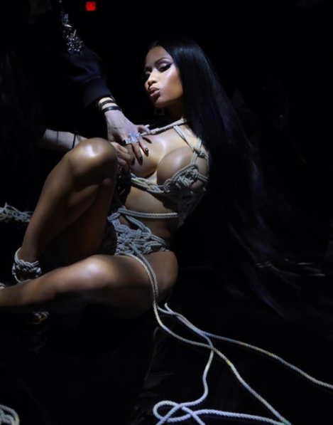 Nicki Minaj Leaves Nothing To Imagination In This Seductive Rope Bikini