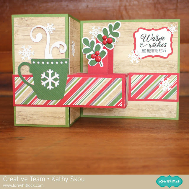 my happy place lori whitlock christmas themed pop up box cards. Black Bedroom Furniture Sets. Home Design Ideas