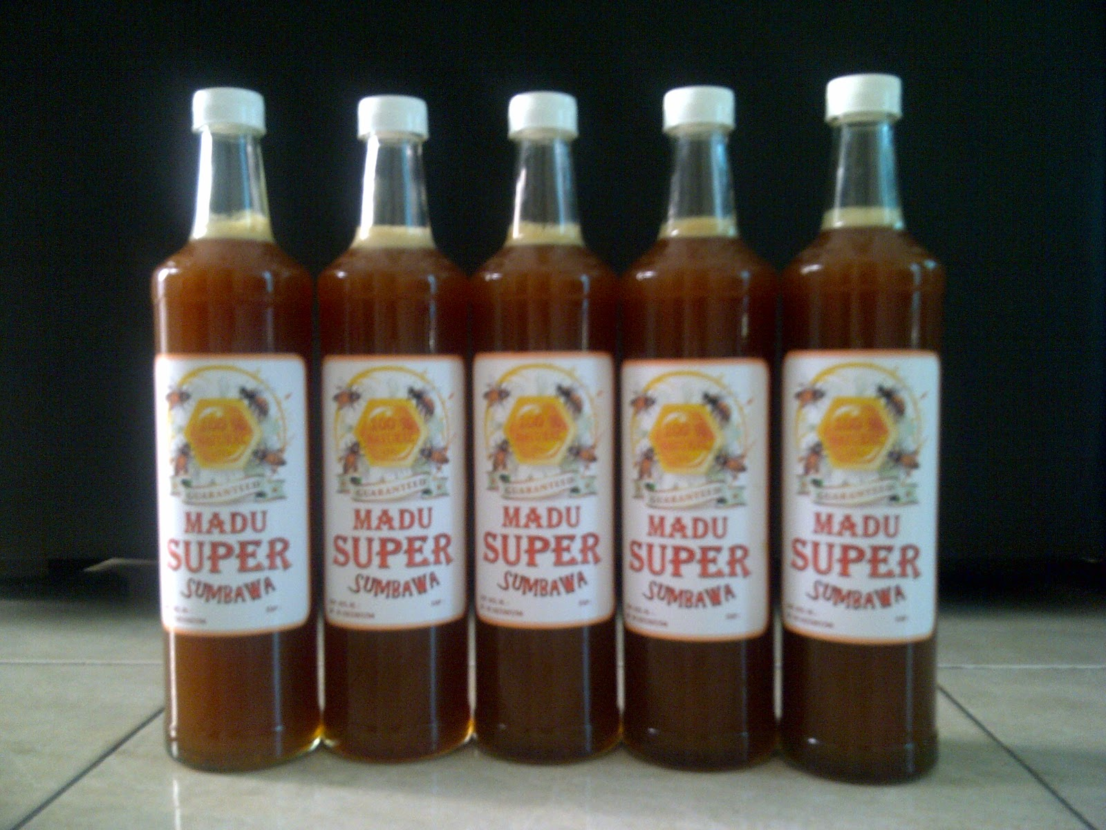 Madu Uray Raw Honey Grade A 330 ml