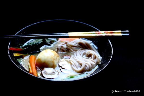 Japanische Küche Miso Suppe