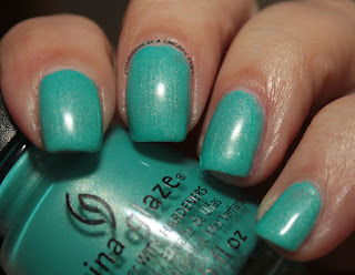 China Glaze Lite Brites What I Like About Blue