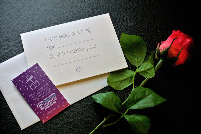 love song, customized gifts, anniversary