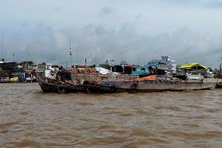 Le marché flottant de Cai Be