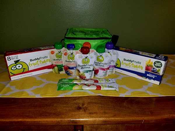Healthy Fruits On the Go from Buddy Fruits + #Giveaway #MBPBacktoSchool