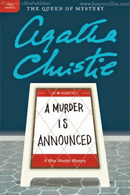 A Murder is Announced by Agatha Christie - book cover
